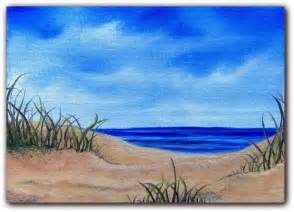 Oil Paintings of Sandy Beaches