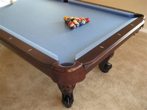 blue felt pool table waverly cherry pool table so cal pool tables