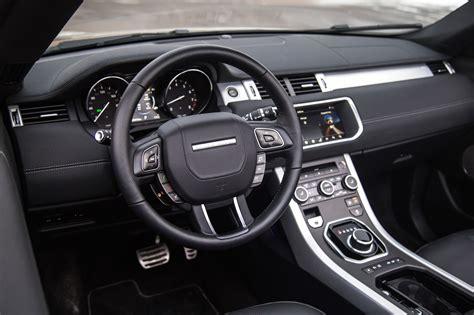 range rover interior 2017 review 2017 range rover evoque convertible canadian