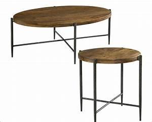 metal wood coffee table set by hekman he 27495 set With wood and metal coffee table sets