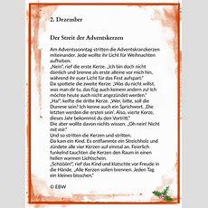 Die Adventskerzen  2 Dezember Winterzeit