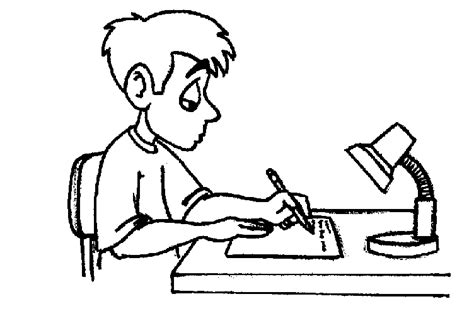students writing clipart black and white children writing clipart black and white clipart panda