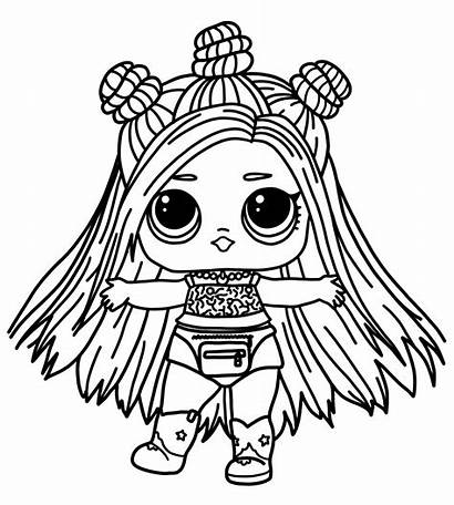 Lol Coloring Pages Doll Printable Dolls Lovely