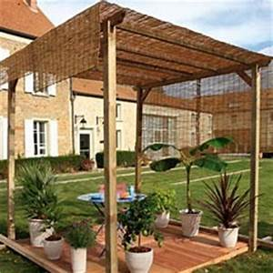 Tonnelle En Bambou : conseils constrution pergola et tonnelle jardinerie ~ Premium-room.com Idées de Décoration