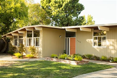 Mid Century Modern Homes Plans Small — Modern House Plan