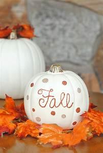 Fun & Simple Fall Decor For Your Home-Gitter Pumpkins