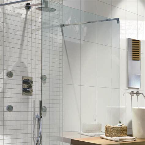 cuisine a domicile mosaïque sol et mur nanotech blanc leroy merlin