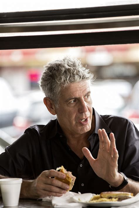 anthony bourdain talks career state  food tv  blade