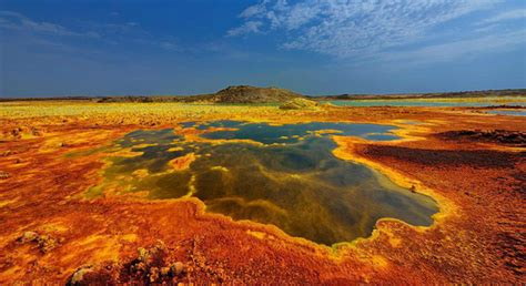 striking  colorful photographs  ethiopias volcanic