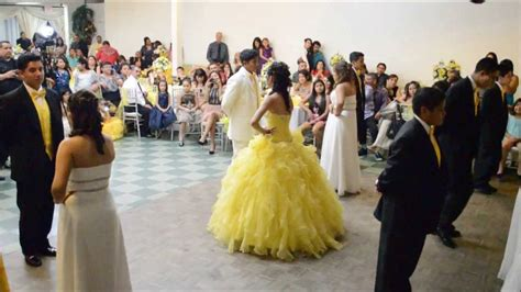 laura quinceanera entrance dance youtube