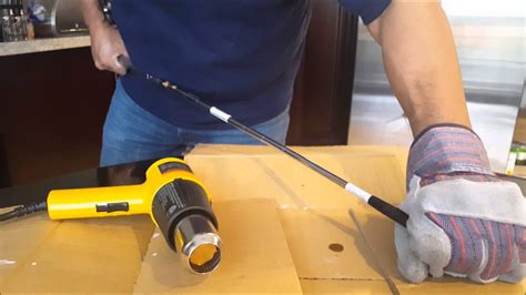 easy golf shaft removal fix repair diy  home youtube