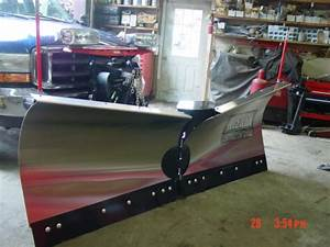 The New Stainless Steel Mvp 3 Western V Plow