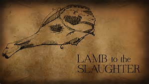 Image result for lamb to the slaughter