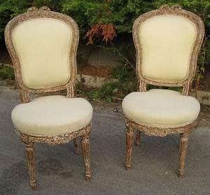 Chaise Louis Xvi : paire de chaises louis xvi ~ Teatrodelosmanantiales.com Idées de Décoration