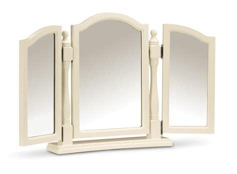 white desk with mirror yazmin white triple dressing table mirror oak furniture uk