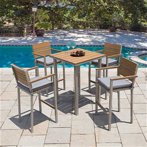 costco party tables and chairs balcony bistro sets costco