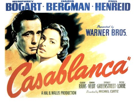 Casablancamovieposter 1664 Classic Hollywood Central