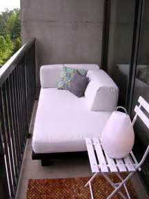 lounge sofa balkon 57 cool small balcony design ideas digsdigs