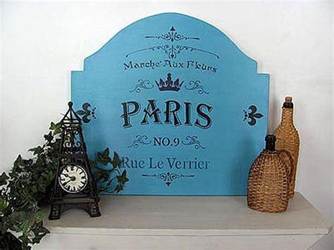 paris shop sign project  decoart