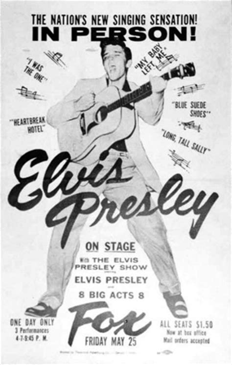 Detroit … The Second Most Fortunate City for Elvis Presley
