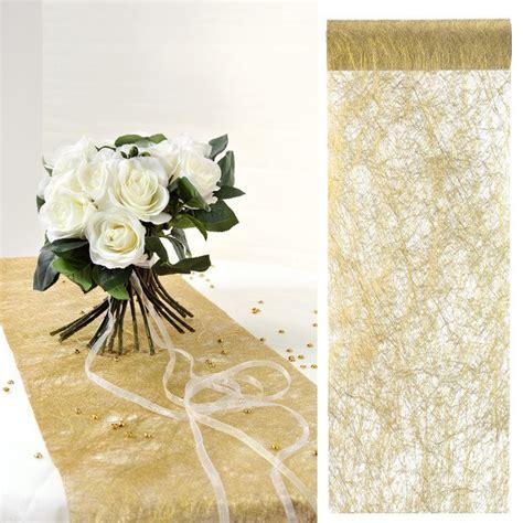 chemin de table mariage or m 233 tallis 233 decoration de table badaboum