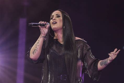 Demi Lovato 'blacked out' during Super Bowl National ...