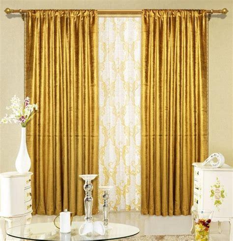 doubles rideaux idees modernes pour decorer linterieur