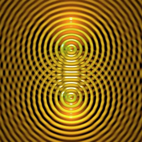 Interference Patterns Photograph by Russell Kightley