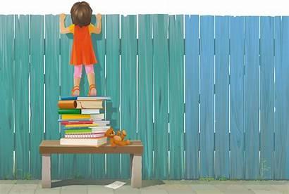 Ieku Fence Looking Opvoeden Hoogbegaafd Uitgave Advies