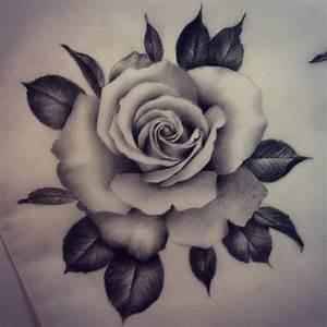 Rosen Tattoos Schwarz : bildergebnis f r tattoo rose tattoos pinterest tattoo ideen tattoo vorlagen und rosen tattoo ~ Frokenaadalensverden.com Haus und Dekorationen