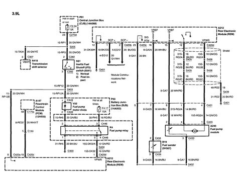 2002 Lincoln L Wiring Diagram by My02 Lincoln Ls 3 9l Has A Problen With The Fuel Preassure