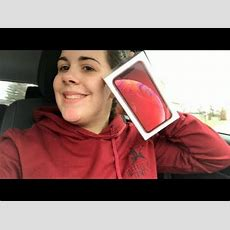 Unboxing My Brand New Red Iphone Xr!!! Youtube