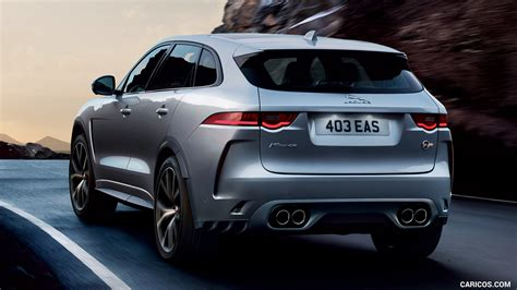 jaguar  pace svr rear hd wallpaper