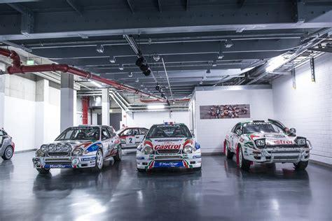 toyota rally cars