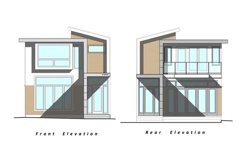 Custom Home Interiors - our next project custom modern home elevation drawings by peter rose architecture interiors
