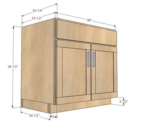 diy kitchen cabinets plans ana white build a kitchen cabinet sink base 36 full