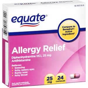 Allergy Capsules Antihistamine