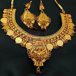 NL0773 Indian Traditional Temple Jewellery Gold Plated ...