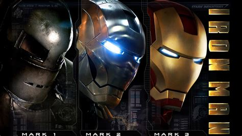 Evolution Armor Iron Man Ii Movie Hd Desktop Wallpaper
