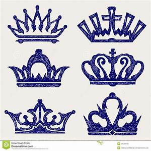 Graffiti Crown Drawing