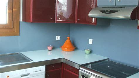 credence murale cuisine rhabiller sa cuisine en plaques de verre