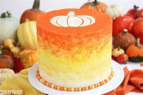 stenciled halloween sprinkle cake sugarhero