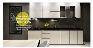 advantages and disadvantages of the aluminium kitchen With kitchen furniture johor
