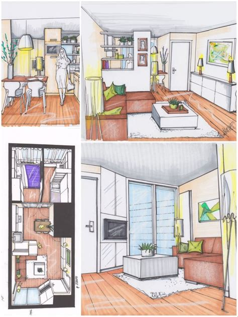 Kleine Keuken Studio by 1000 Idee 235 N Klein Appartement Ontwerp Op