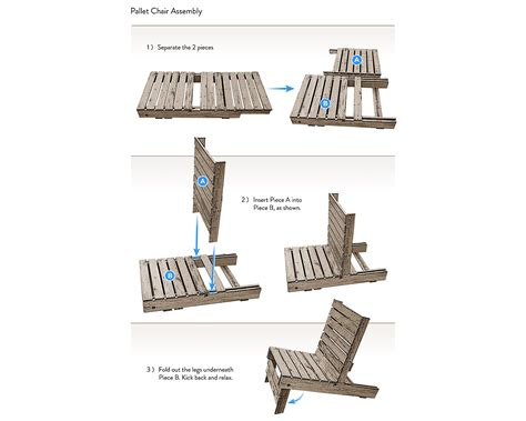 build adirondack chair from pallet pdf woodworking