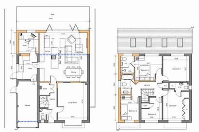 Extension Rear Kitchen Side Plan Layout Diy