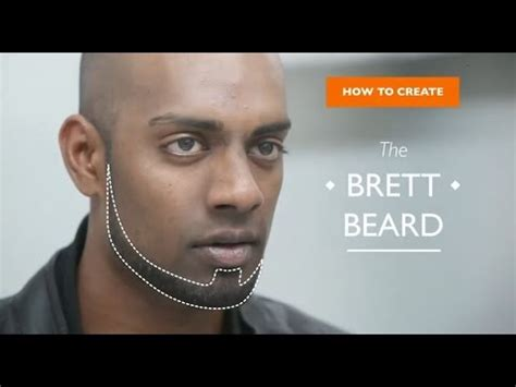Chin Curtain Vs Beard by How To Create The Brett Beard With Norelco Grooming Kit