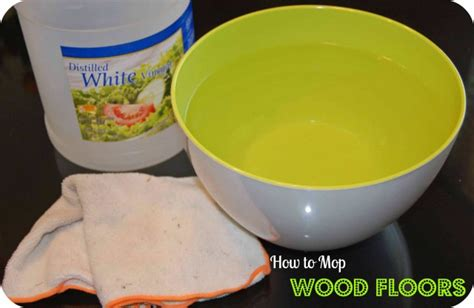 mop floor with vinegar how to mop wood floors