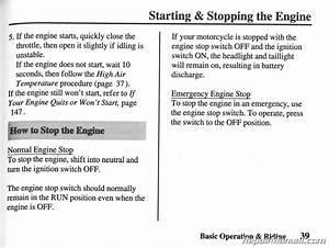 2001 Honda Vt750c  Cd Ace Shadow Deluxe Owners Manual