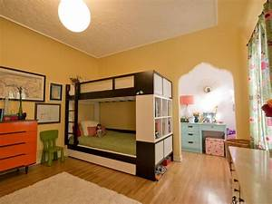 A Shared Bedroom For A Brother And Sister HGTV